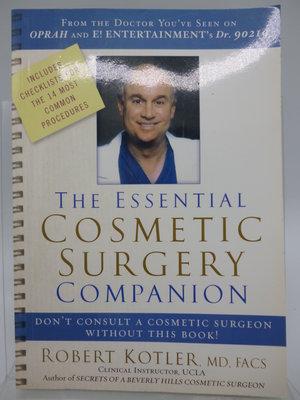 【月界二手書店2】The Essential Cosmetic Surgery Companion 〖大學理工醫〗ABG