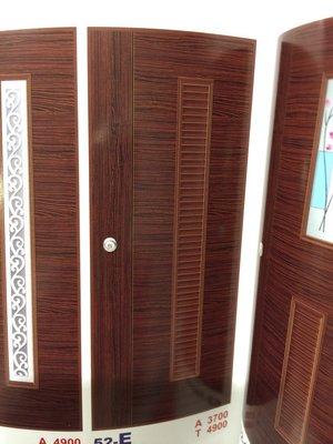 [美宅網] 房間門  浴室門  52-E   胡桃木門片*1+無KEY水平鎖
