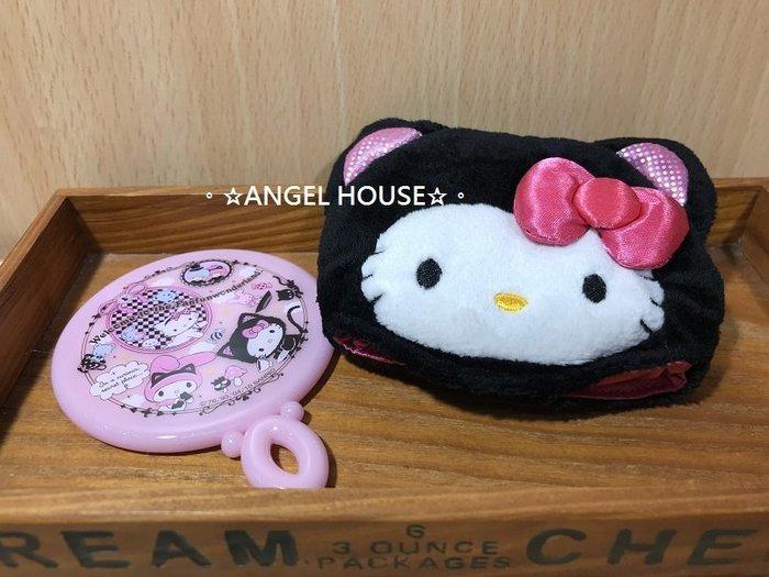 。☆ANGEL HOUSE☆。日本進口**hello kitty**變裝貓女隨身鏡282