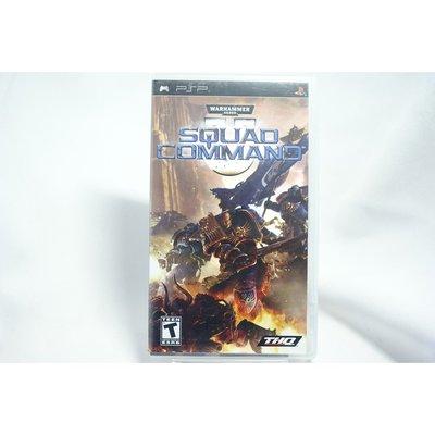 [耀西]二手 美版 SONY PSP 戰鎚:戰地指揮官 SQUAD COMMAND 含稅附發票