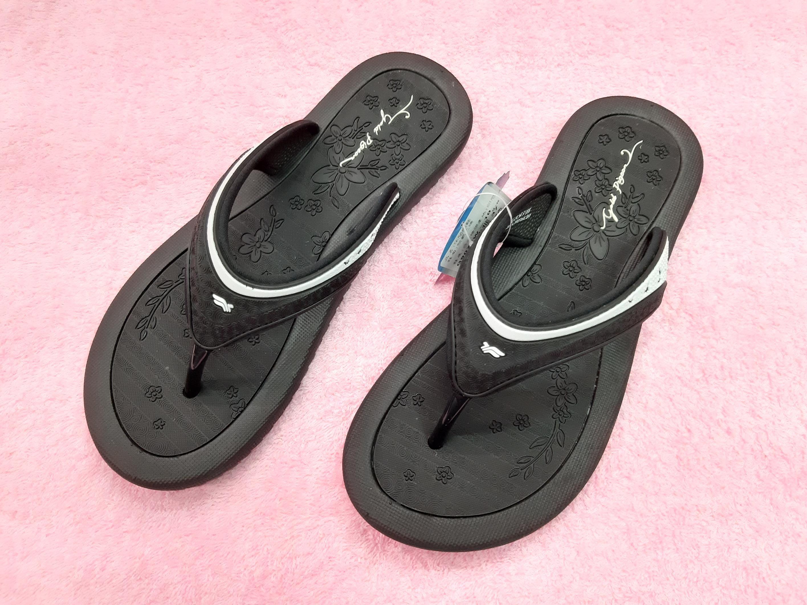 《小郭網路鞋店》免運 GP拖鞋(黑色) 女版 編號:9077