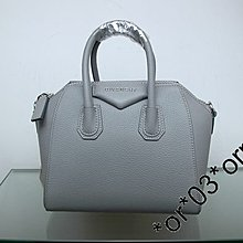 (A M STATION 名牌站)特價 GIVENCHY ANTIGONA Mini/ 山羊皮//銀扣/B05103012