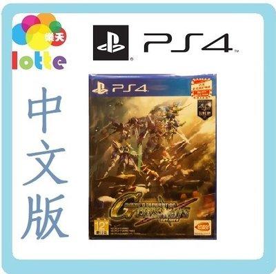 (全新現貨) PS4 Sd Gundam G Generation Cross Rays 中文版 原裝正版【觀塘樂天】