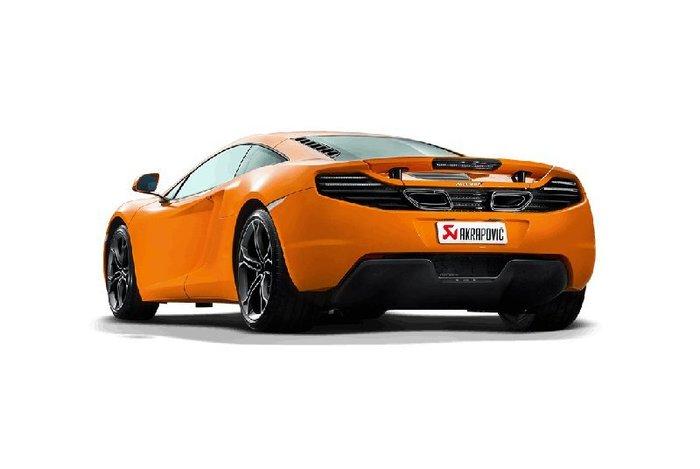 【樂駒】Akrapovic McLaren 麥拉倫 排氣 系統 排氣管 MP4-12C 改裝 套件 尾段 鈦合金 精品