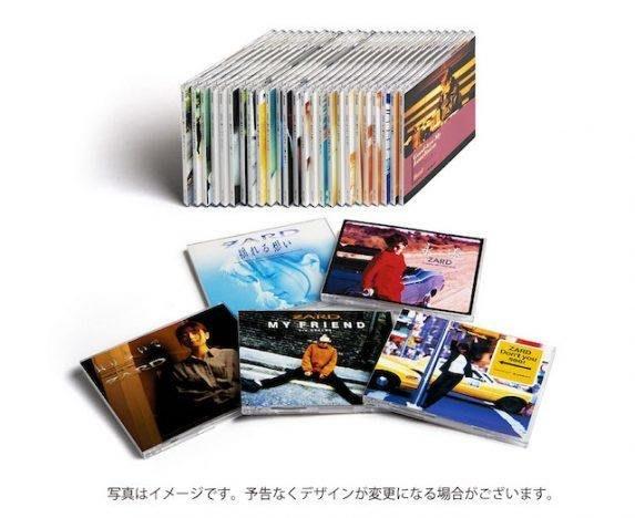 代購 ZARD 坂井泉水 30周年YEAR紀念特別製作 全30張單曲完整版 最新數位重製高音質12cm單曲CD 日本原版