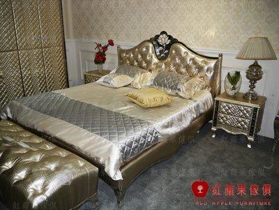 [紅蘋果傢俱]NEW CT-012 新古典 后現代系列 新潮 歐式床 實木床 床頭櫃 衣櫃 化妝台 工廠直營