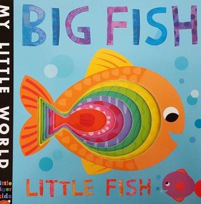 Big Fish, Little Fish  (Board) (洞洞書-魚)