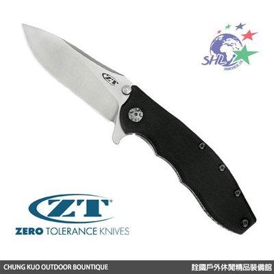 詮國 - ZT / Zero Tolerance 切割者G10黑柄折刀 / 0562
