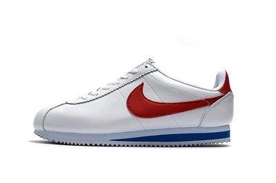 D-BOX NIKE Cortez Basic SL Gs 鴛鴦 白藍紅 阿甘鞋 慢跑鞋 皮革