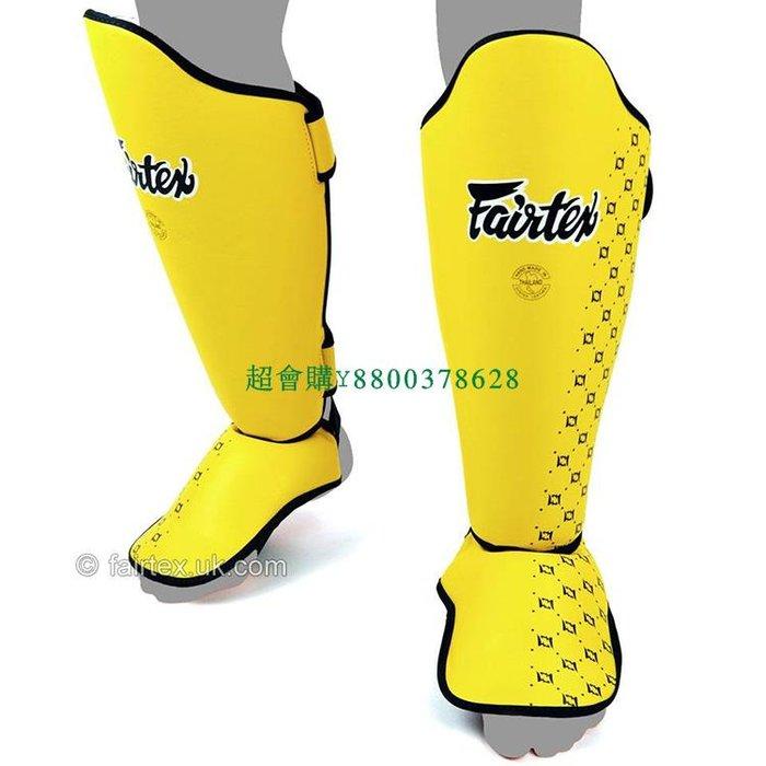 超會購Fairtex泰國正品護腿護脛SP5散打自由搏擊專業護踝拳擊護具護腿板