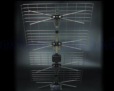 現貨供應 萬赫 NPE-4DXB-S 全不銹鋼天線 UHF 4D數位天線 反射波天線 不需插電 不生鏽 高清免費頻道