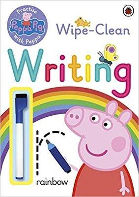 降價囉~~Peppa And George's Wipe-Clean Writing 佩佩豬活動書(外文書) 寫字練習書
