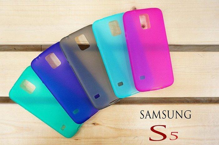 【中壢NOVA-水世界】三星 Samsung Galaxy S5 i9600 手機 矽膠 全磨砂款 軟式 背蓋 保護蓋