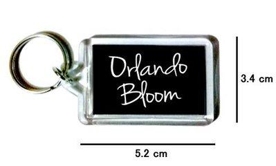 〈可來圖訂做-鑰匙圈〉Orlando Bloom 奧蘭多布魯 壓克力雙面鑰匙圈 (可當吊飾)