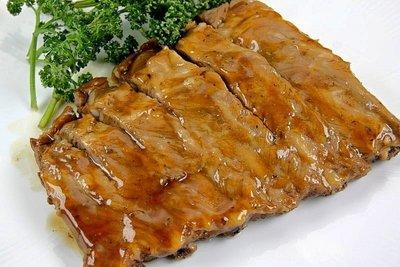 【萬象極品】聖路易肋排(熟)/約500g±5%/包 肋排醃漬調理入味~包覆著濃醇醬汁 加熱後香氣十足