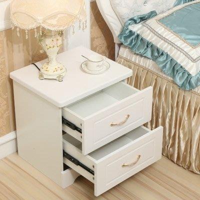 韓式床頭櫃簡約現代臥室邊櫃多功能經濟型儲物櫃