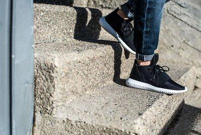 》P.S 》ADIDAS TUBULAR DEFIANT 襪套式 黑白 女 慢跑鞋 武士 黑魂 S75249