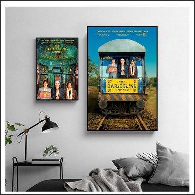 日本製畫布 電影海報 大吉嶺有限公司 The Darjeeling 掛畫 無框畫 @Movie PoP 賣場多款海報#
