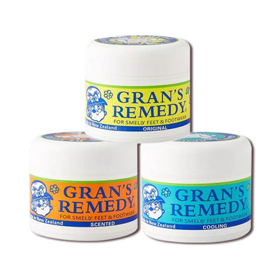 紐西蘭 Grans Remedy 老奶奶臭腳粉 50g 清香、薄荷、原味 鞋粉 戶外腳汗 推薦好物 正品