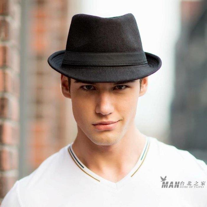 帽子男新款時尚紳士帽爵士帽正韓潮女士英倫復古小禮帽遮陽休閒帽