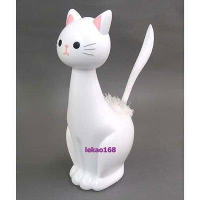 日本療癒商品白貓造型毛毯子刷刷組  [2015年10 月新到貨   ]