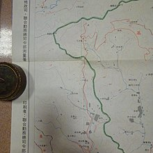 71年~原版大型~老地圖(基隆市~免運費~108公分77.6公分)