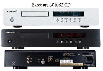 【富豪音響】英國原裝Exposure 3010S2 CD 播放機(黑銀兩色) 特惠中