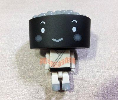 單售 隱藏版 黑白 伊賀鮭子 跆拳道 運動造型 一支 爭鮮迴轉壽司 壽司公仔 運動款 積木人偶