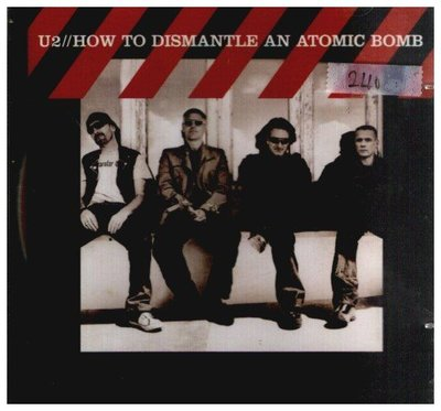 **新尚** U2/HOW TO DISMANTLE AN ANTOMIC BOMB 二手品-F322