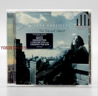 爆款CD.唱片~莎拉巴萊勒斯 Sara Bareilles The Blessed Unrest CD [U]