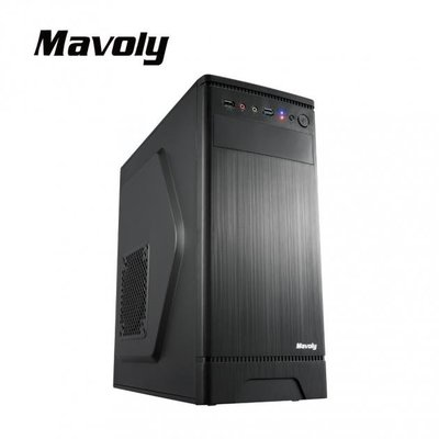 松聖 Mavoly 1206 ATX電腦機殼 黑色機殼