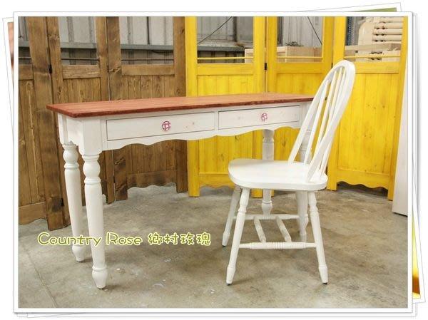 英式花邊桌與椅 餐桌 書桌 玄關桌 工作桌 - 鄉村家具 手工家具