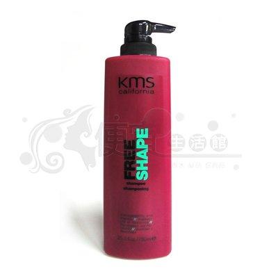 便宜生活館【洗髮精】KMS-變髮洗髮精750ml-乾燥受損髮專用(公司貨)