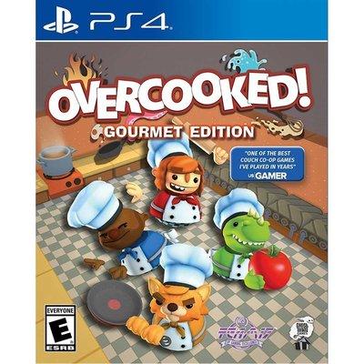 (現貨全新) PS4 煮過頭 美食家版 英文美版 OVERCOOKED GOURMET EDITION