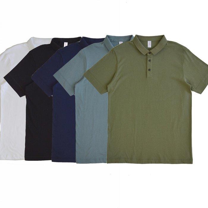 【 Wind 】Select  五色  基礎款 五色 基礎款 100% 純棉 POLO衫 透氣 三扣