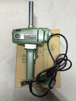 偉榮五金雜貨鋪~ 英得麗 BU-PN3 便宜耐操 750W 台製專業級電動水泥攪拌機