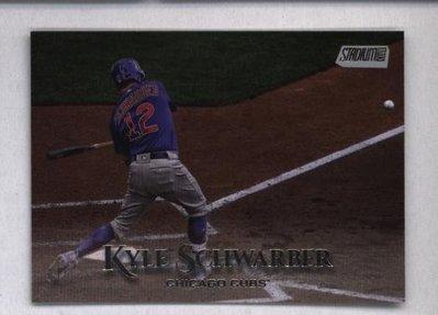 2019 Topps Stadium Club #2 Kyle Schwarber - Chicago Cubs