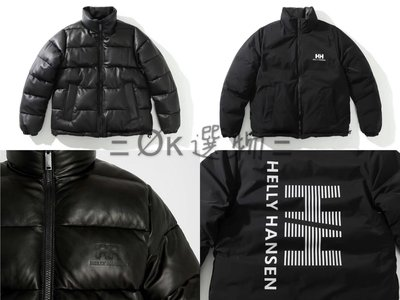 Ξ Øκ選物 Ξ  Helly Hansen x Sandro Paris Quilted Shell & Leather Jacket 小羊皮雙面外套