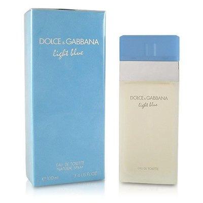 ~美麗佳人~D  G Dolce   Gabbana Light Blue 淺藍 女香 50ML