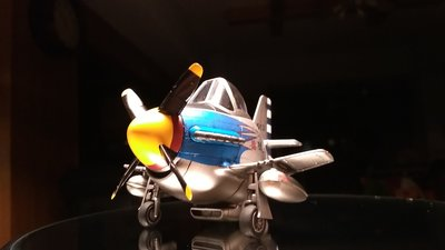 Q版蛋機系列模型P-51 野馬式戰機一把青天馬號國軍塗裝 (請先連繫訂製勿直接下單)