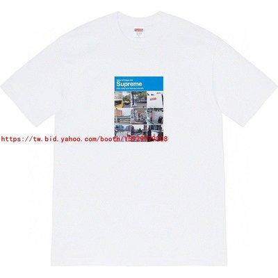 正確Supreme 20FW Verify Tee 驗證碼 街景風景 九宮格 短袖T恤2111