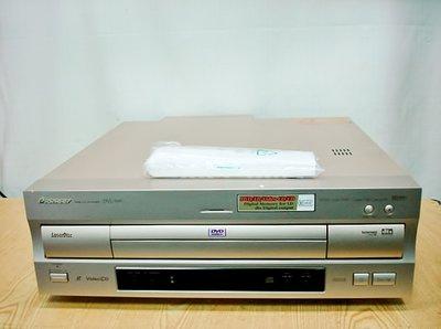 @【小劉2手家電】 PIONEER DVD雷射碟影機LD放影機,DVL-919型,附全新萬用遙控器,舊壞機可修理回收