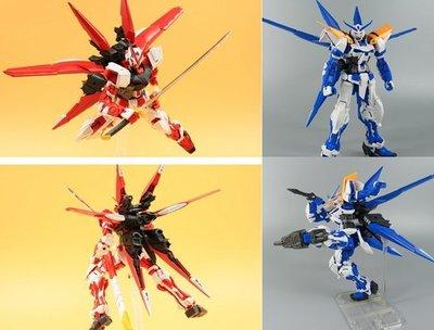 [現貨 套裝 紅藍背包+巴庫頭+火箭炮+水貼] EffectsWings MG 1/100 紅異端 藍異端 紅龍 裝翔翼