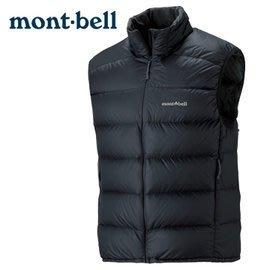 丹大戶外 日本【mont-bell】Light Alpine 男款羽絨背心 1101432BK 黑