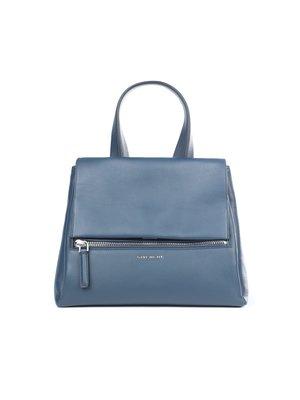GIVENCHY - 藍色PANDORA中號牛皮手提包