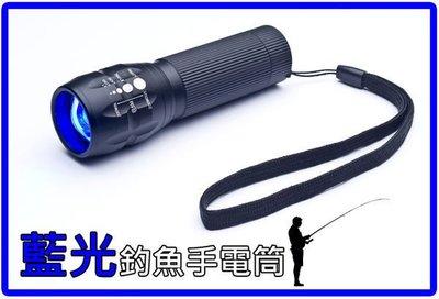 新品/衝評價美國CREE Q5魚眼變焦電筒,白光.黃光,藍光任選,大全配只350元登山露營釣魚夜遊