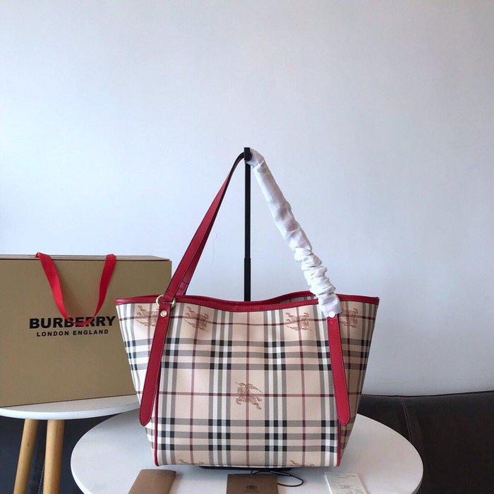 【GoDay+刷卡】Burberry 巴寶莉 2020 新款肩背包 水餃包 紅  歐美流行 美國outlet代購