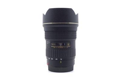【高雄青蘋果3C】Tokina AT-X Pro SD 16-28mm f2.8 FX / Canon 鏡頭#54300