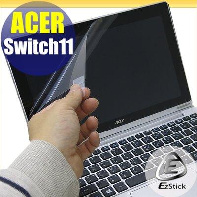 【EZstick】ACER Switch 11 SW5-171 靜電式平板LCD液晶螢幕貼 (可選鏡面或霧面)