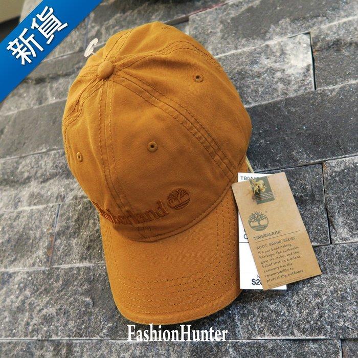 新貨【FH.cc】Timberland 可調式棒球帽 Baseball Cap 金屬釦 皮質調整帶 經典黃 老帽